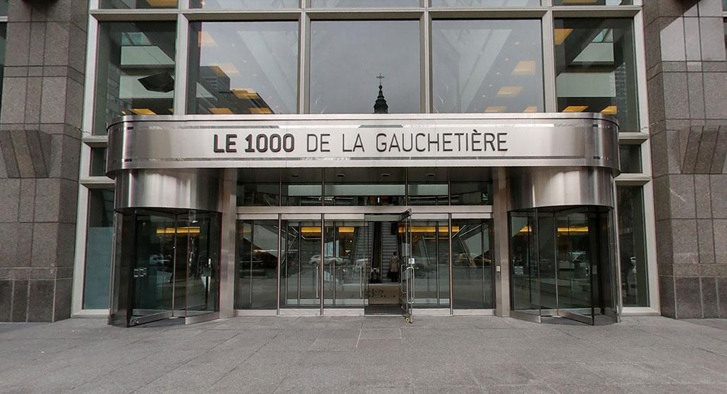 Notre bureau à Montréal